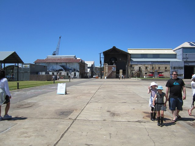 cockatoo island buildings