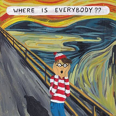 whereiseverybody waldo (sanitaryum) Tags: funny lol humor cleanhumor