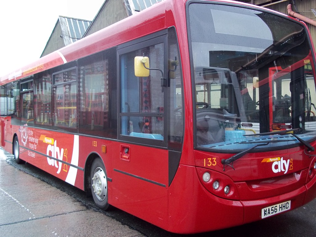 Plymouth Citybus 133
