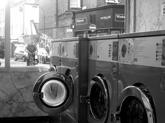 Laundromat (Flamenco Sun) Tags: city uk england urban london britain gb laundromat launderette shepherdsbush w12 laundrette