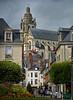 Cathédrale Saint-Louis de Blois (Wipeout Dave) Tags: street france building church architecture buildings lumix cathedral rue loire francais blois loiretcher cathédralesaintlouisdeblois wipeoutdave