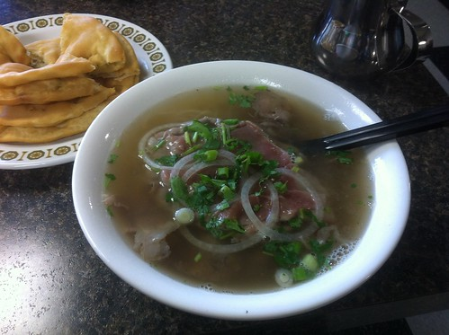 Pho with Steak and Brisket by raise my voice