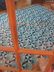 strill piecing blocks into rows!
