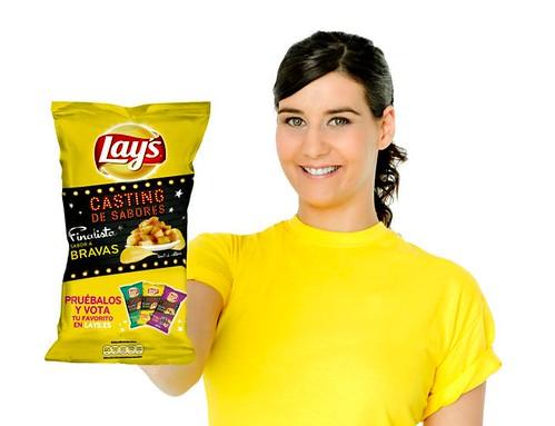 casting de sabores lay's patatas con sabor a patatas bravas
