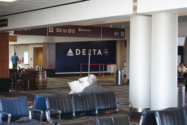 Delta Gates in Nashville (Concourse B)
