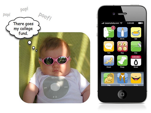 iPop iPod- Themed Baby Clothing
