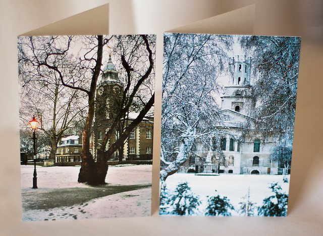 History of Wapping Trust Christmas Cards 2011