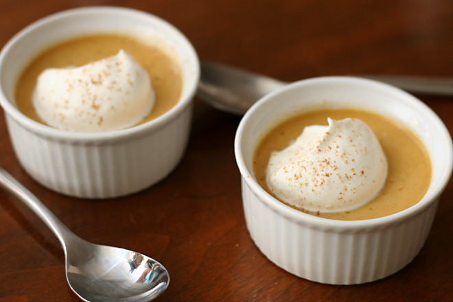maple pumpkin pots de creme 5