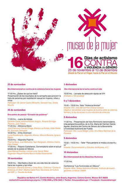 16 días contra la violencia de género