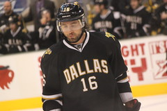 Adam Burish spitting out some teeth during the Stars/Avalanche game in Dallas (Hazboy) Tags: usa west adam ice sports hockey sport america stars nhl star us dallas team texas state south national american western rink lone puck players league avalanche lnh burish hazboy hazboy1
