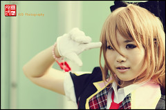 Cosplayer (kyawzo) Tags: portrait cute beauty nikon singapore asia pretty cosplay 85mm sg 2011 d90 cosfest