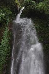 Waterfalls in Annapurna (David J. Greer) Tags: travel nepal mountain water trekking trek walking landscape waterfall hiking walk hike explore himalaya annapurna sanctuary