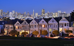 Painted Ladies (ProudPinoy) Tags: sanfrancisco skyline landscape oakland twilight cityscape nightscape sfo explore goldengate bayarea bluehour noypi magichour pinoy goldenhour paintedladies alamosquare sanfo peterlik popphoto proudpinoy jasonsalgado