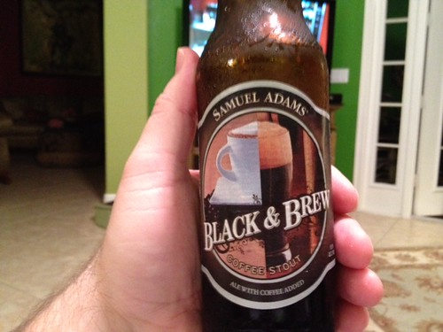 Sam Adams Black & Brew Coffee Stout