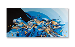 'Aftershock 6.4' (Digitaldoes) Tags: christchurch love digital graffiti earthquake artist 10 letters canvas does acrylics loveletters aftershock dieci 2011 digitaldoes doesloveletters wwwdigitaldoescom diecidoes