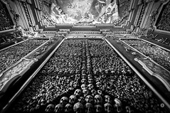 Contradiction (Boudewijn Boer (Bo)) Tags: blackandwhite bw ex church monochrome skeleton photography interesting nikon sigma chapel bones contradiction 1020mm bizarre sculls boudewijnboer