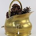 240. Antique Brass Coal Bucket