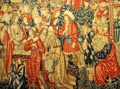 Zamora. Museo catedral. Tapices de la via. Distribucin del denario. Detalle (santi abella) Tags: zamora tapices museocatedraldezamora