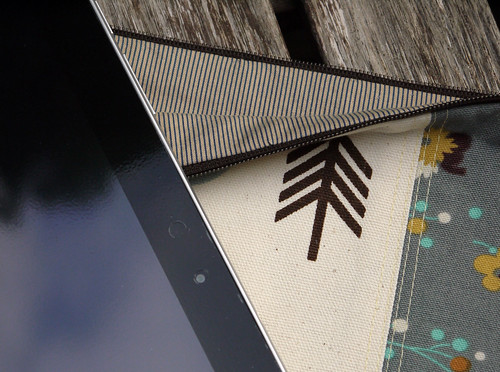 Owl Galaxy Tab Sleeve, Lining