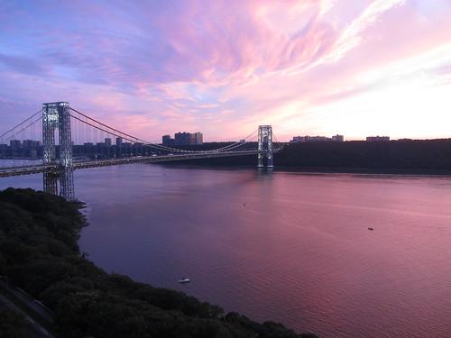 George Washington Bridge - 4th of July