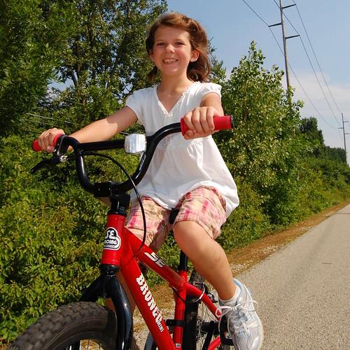 Hannah Biking