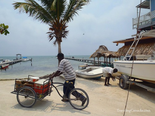 Another Day at the Office - Caye Caulker, Belize