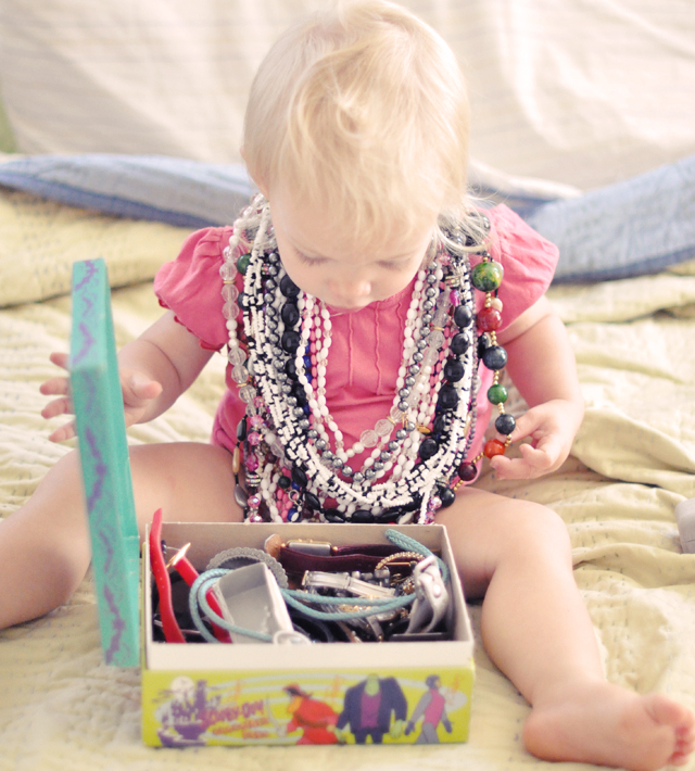 delilah + jewelry + vintage necklaces