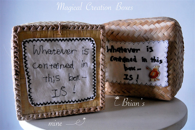 our magical creation boxes