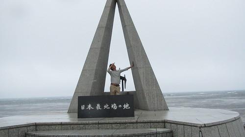 タナカin宗谷岬