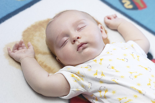 Deep baby sleep
