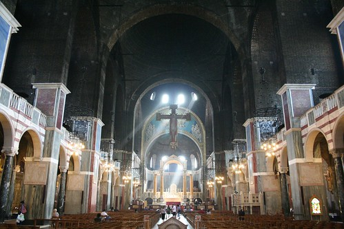 Along the nave