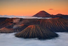 Mount Bromo - East Java, Indonesia (Jesse Estes) Tags: fog indonesia volcano smoke mountbromo eastjava