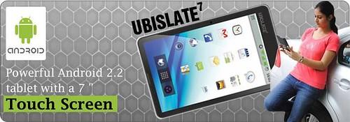 Ubislate 7-Aakash