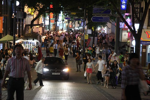 夜の明洞 / Korea Travel
