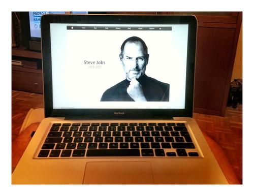 R.I.P. Steve Jobs by Jesús Romero