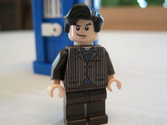 Brown suit V.2 (Brickdon) Tags: brown david tooth lego who suit doctor claw custom tennant