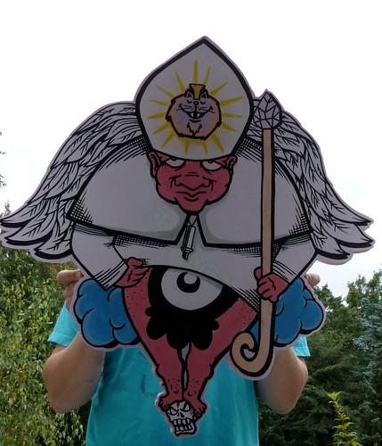 Wir sind Papst! by SFC...Creature Ink.