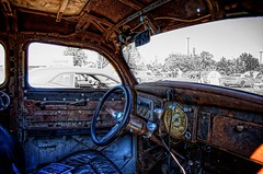 Rat Interior (Carolinadoug) Tags: georgia nikon yearone mopar hdr topaz adjust photomatix tonemapped dougjohnson d700 worldcars topazadjust carolinadoug