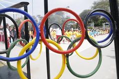 Octubre 10 -  Inauguración Semana de olimpiadas