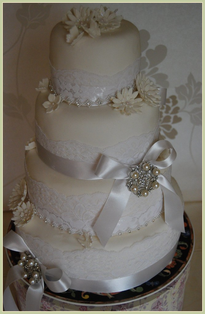 wedding cakes leigh lancashire the world s best photos of diamonds and ribbon flickr 24900