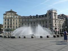 Fountain at Karlsplatz (Stachus)
