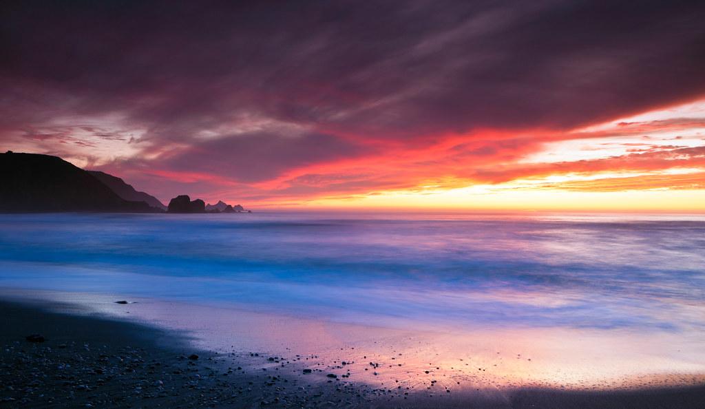 Rockaway Fire Sky