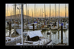 The End of the Day ~ Fin de journe (SergeK ) Tags: sanfrancisco california sunset sun water port soleil pier boat san eau frame bateau californie sergek franciscocaliforniecaliforniasfsergekusa