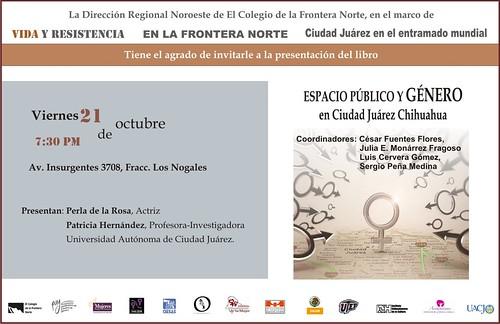 Espacio Público y Género en Ciudad Juárez, Chihuahua. Accesibilidad, sociabilidad, participación y seguridad.