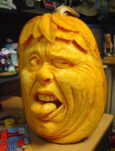 Ray Villafane - carved pumpkin 6