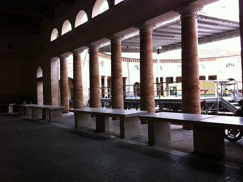 neo-classical market arches, Senigallia, Le Marche