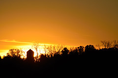 Burning Water Tower DSC_4888 by Mully410 * Images
