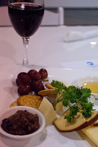 Centreplate Bistro cheese platter