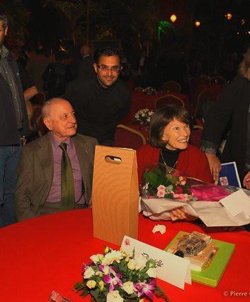 25 ans de la Fondation France Libertés : Danielle Mitterrand, Pierre Bergé et Arash Derambarsh by Arash Derambarsh