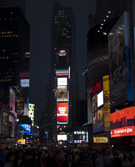 """Times Square • <a style=""""font-size:0.8em;"""" href=""""http://www.flickr.com/photos/32810496@N04/6272181136/"""" target=""""_blank"""">View on Flickr</a>"""